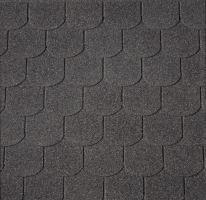 Střešní krytina šindel  BOBROVKA 3m² černý