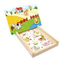 Magnetové puzzle  Farma