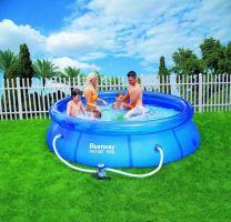 Bestway 57109 Samostavěcí bazén s filtrací - 305 x 76 cm