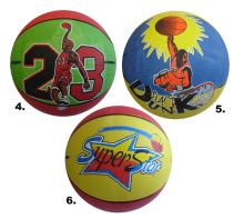 ACRA G716-40 Míč basketbalový potištěný vel. 7