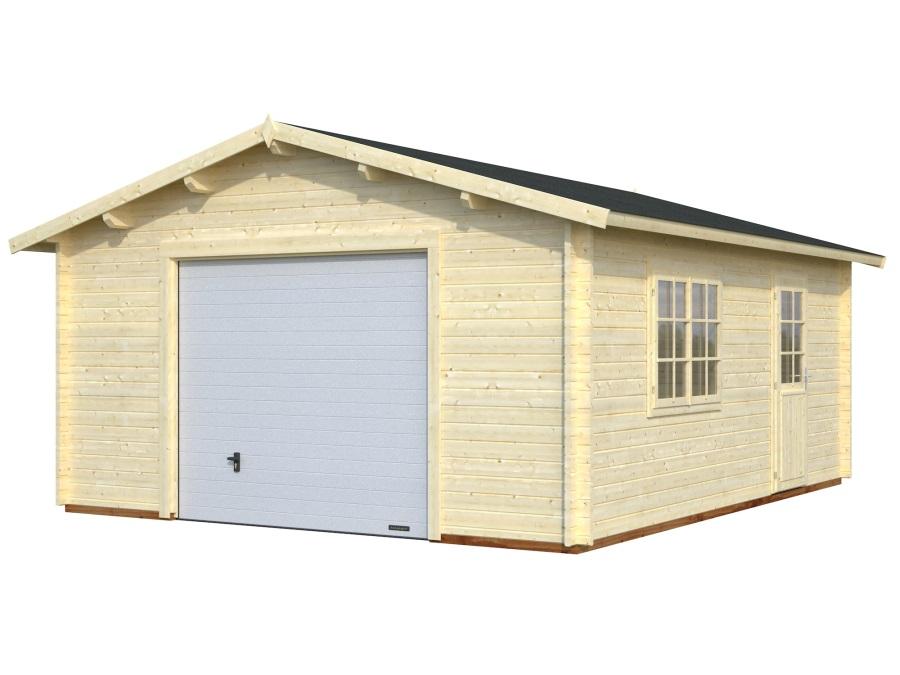 GARÁŽ Roger 23,9 m2 + výsuvná vrata