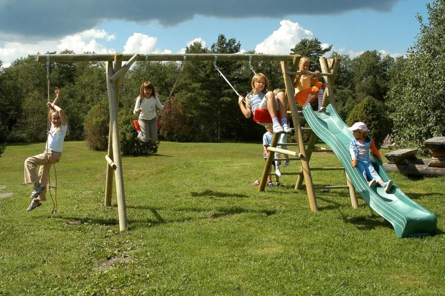 Dětské hřiště HENRY 1 s houpačkou