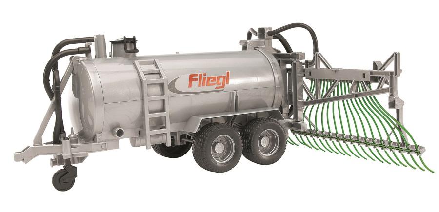 BRUDER - Přívěs cisterna s postřikovačem Fliegl