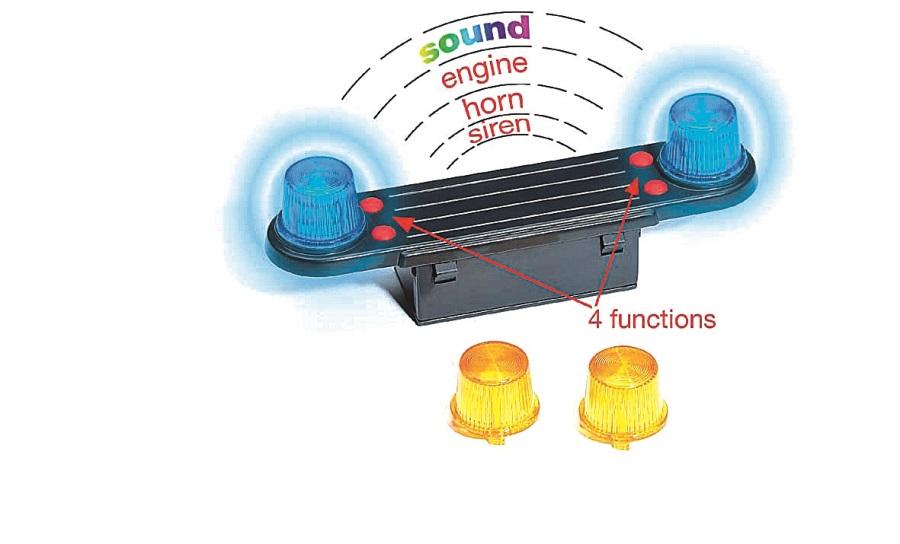 BRUDER Světelný modul se zvukem