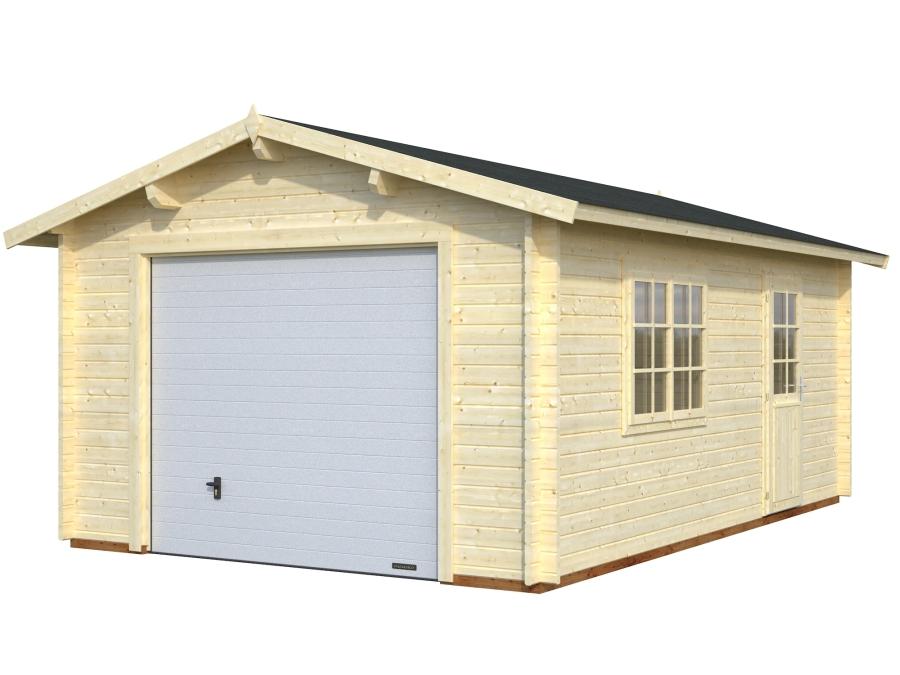Garáž Roger 19 m2 - výsuvná vrata